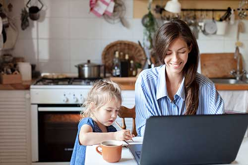 Tips to Work from Home with Children